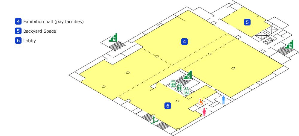 Floor map tepia for Floor 2 map swordburst 2